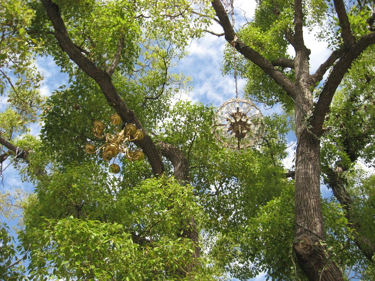 Chandelier Tree Silver Lake
