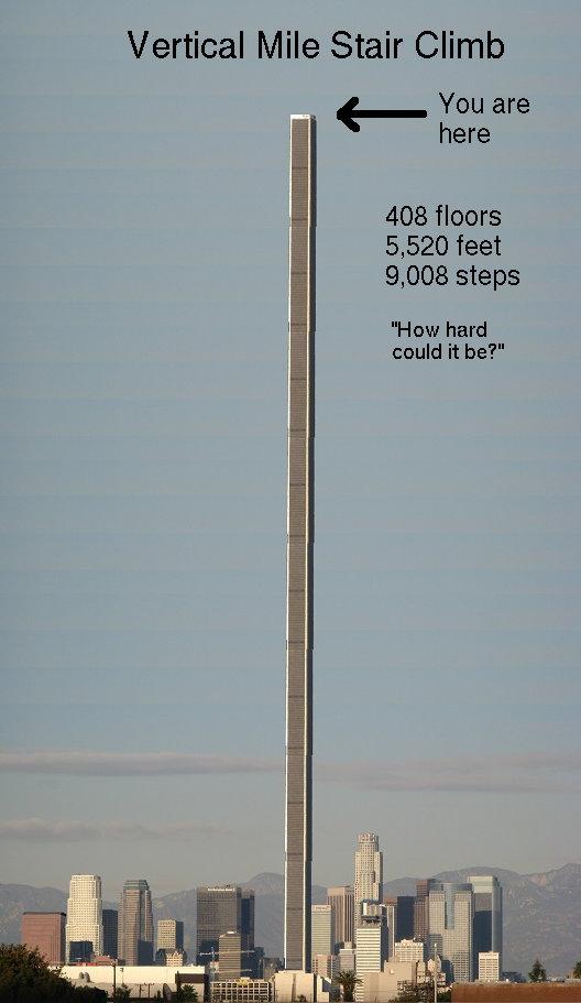 Vertical Mile stair climb